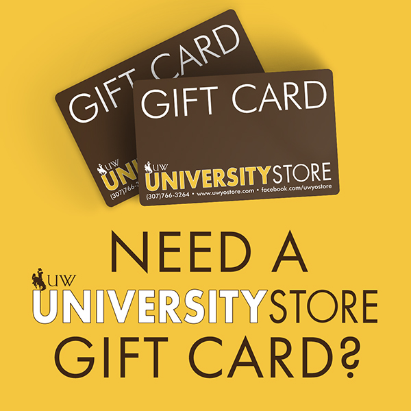 Get a University Store gift card today!